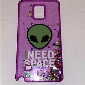 Samsung galaxy note for glitter phone case